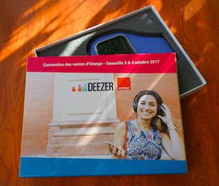 Coffret cadeau Deezer-Orange