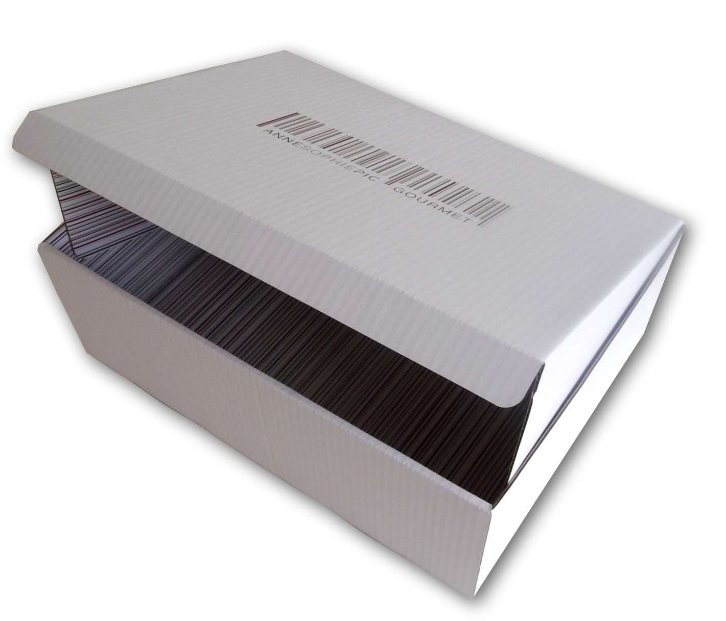 Boite carton pliante micro-cannelure-Pic