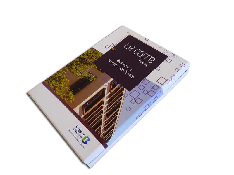 Boite-coffret présentation de programme immobilier
