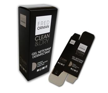 Packaging etui carton Fred Ormann