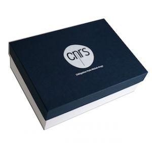 boite carton avec couvercle CNRS