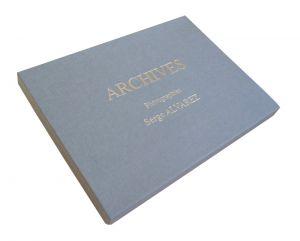 "Coffret carton pour photos ""Serge Alvarez"""