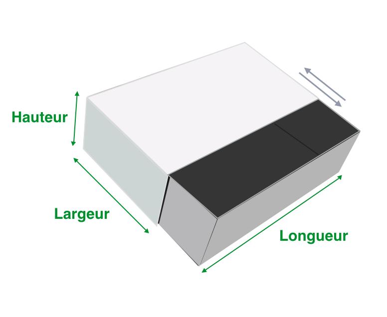 La boîte Tiroir